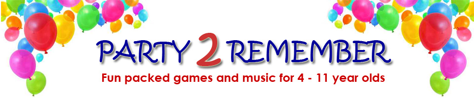 Party2Remember - Fun packed games and music for 4 to 11 year old kids